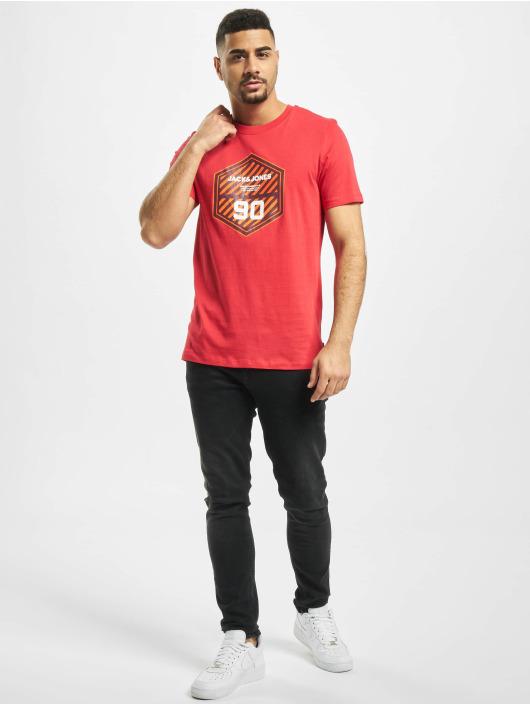 Jack & Jones T-Shirt jcoFriday-Disc rot