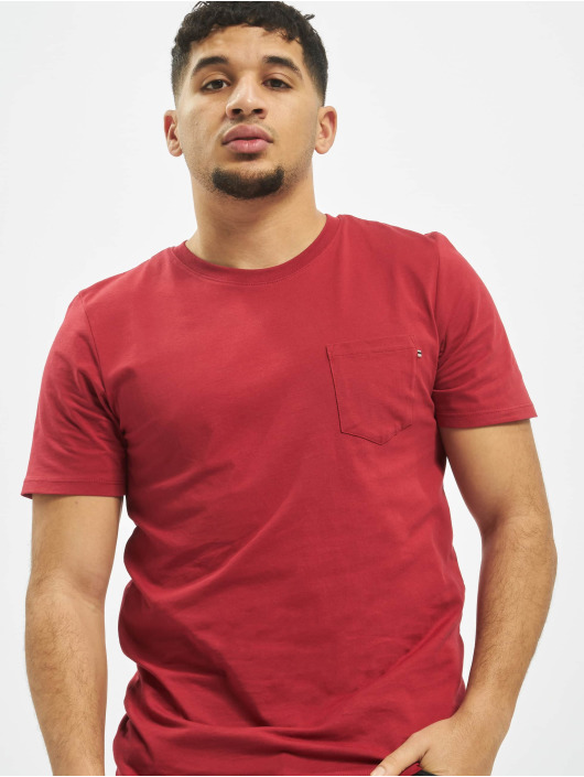 Jack & Jones T-Shirt jjePocke O-Neck Noos rot