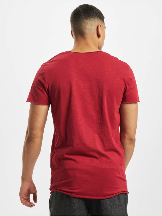 Jack & Jones T-Shirt jjeBas rot