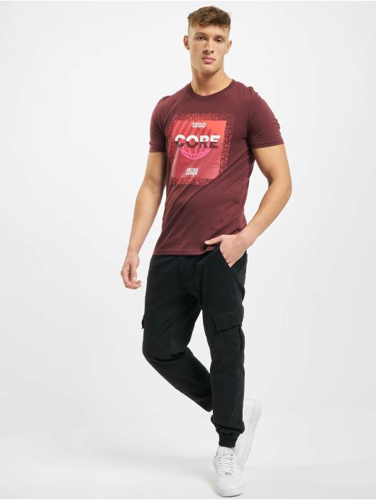 Jack & Jones T-Shirt jcoSplatter rot