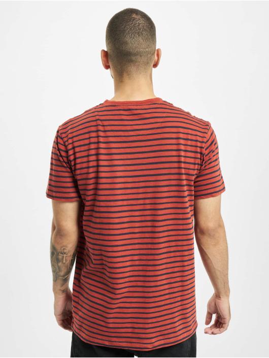 Jack & Jones T-Shirt jprBlujordan rot