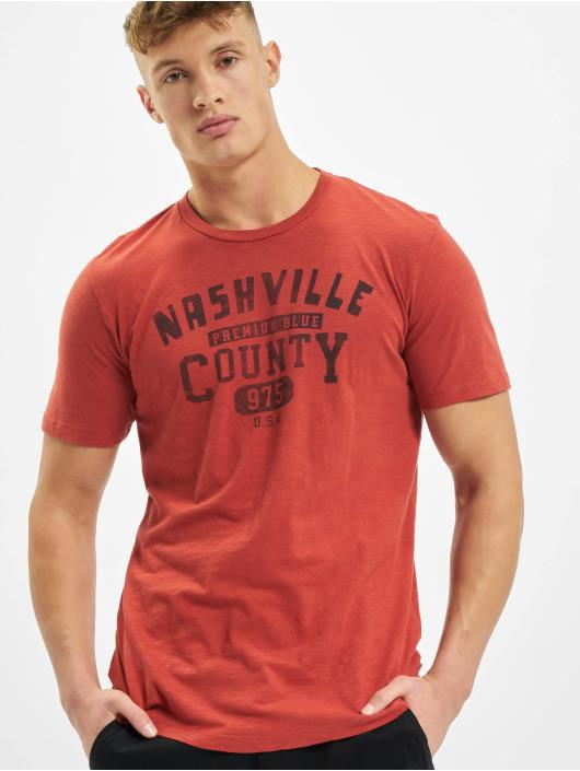 Jack & Jones T-Shirt jprBlubryan rot