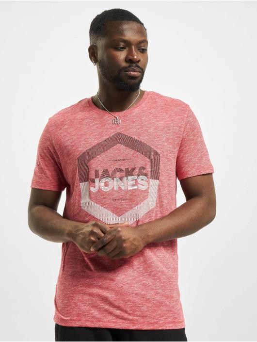 Jack & Jones T-Shirt jjDelight rot