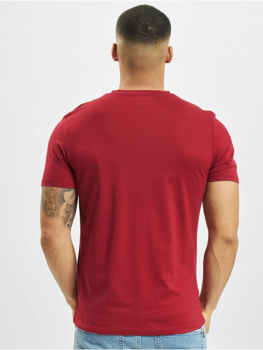 Jack & Jones T-Shirt jprBlustar rot