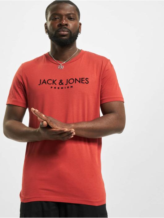 Jack & Jones T-Shirt jprBlajake rot