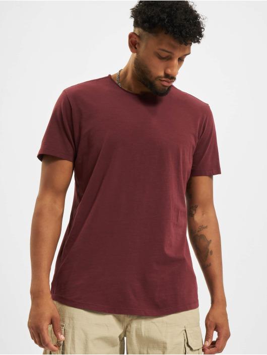 Jack & Jones T-Shirt Jjebasher O-Neck rot