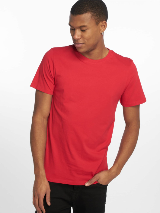 Jack & Jones T-Shirt jjePlain rouge