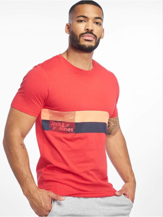 Jack & Jones T-Shirt jcoStairs rouge