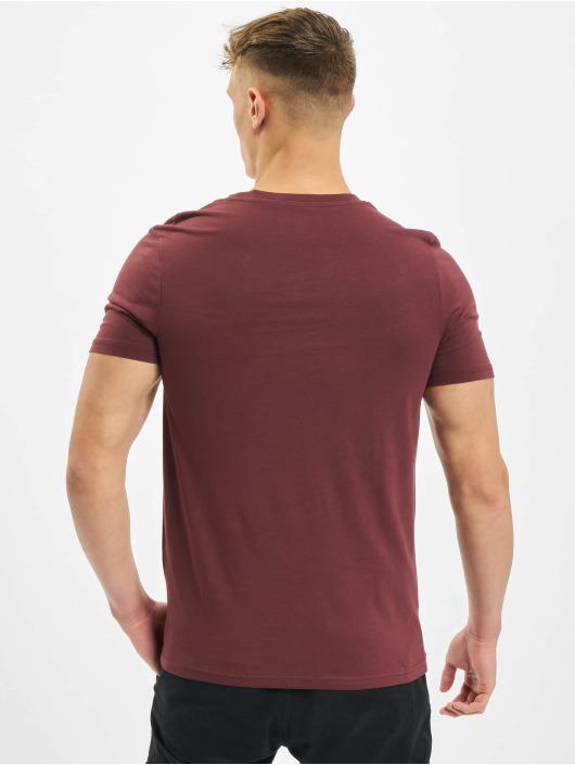 Jack & Jones T-Shirt jcoSplatter rouge