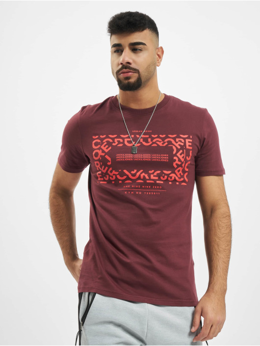 Jack & Jones T-Shirt jcoAke rouge
