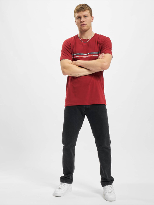 Jack & Jones T-Shirt Jjgavin rouge