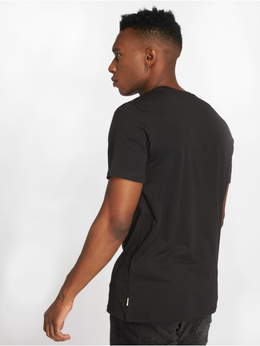Jack & Jones T-Shirt jjePocket schwarz