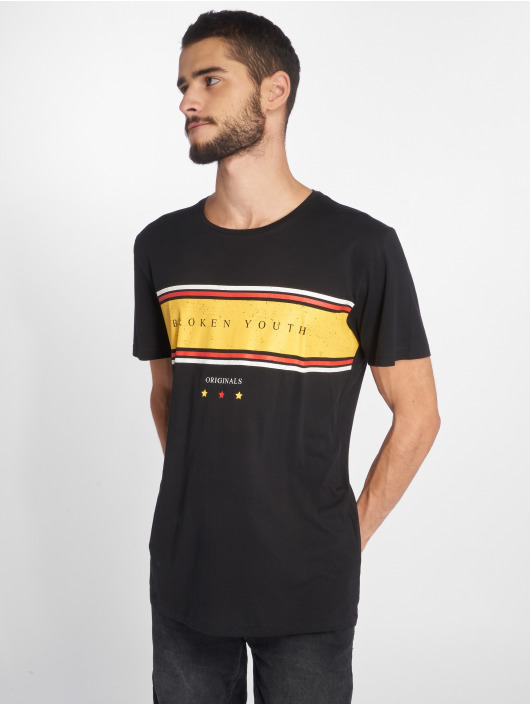 Jack & Jones T-Shirt Jorshakedown schwarz