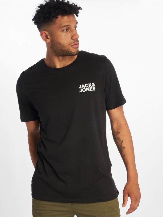 Jack & Jones T-Shirt jjeCorp Logo schwarz