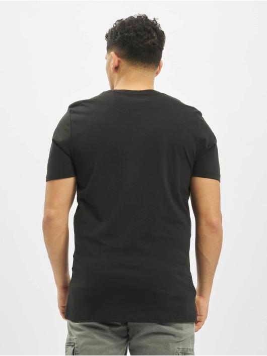 Jack & Jones T-Shirt jjeDenim Logo O-Neck Noos schwarz