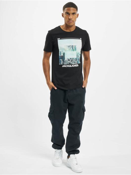 Jack & Jones T-Shirt jjBarista schwarz