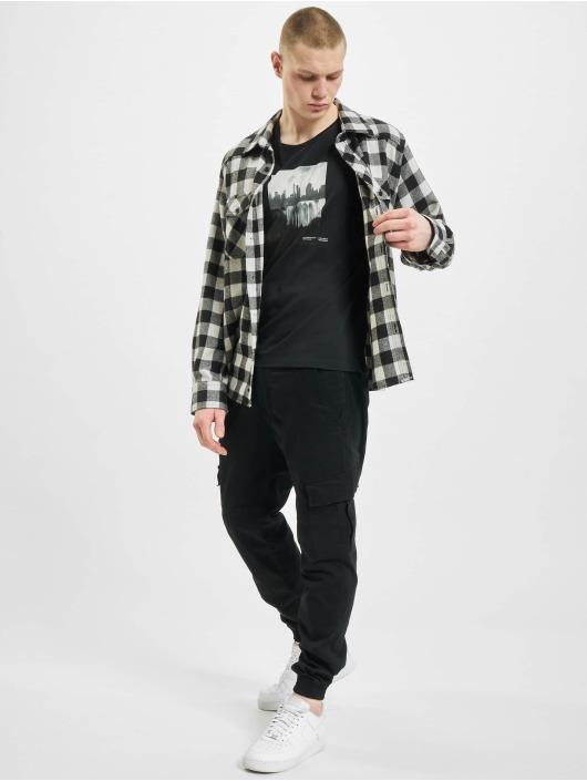 Jack & Jones T-Shirt jorNobody schwarz
