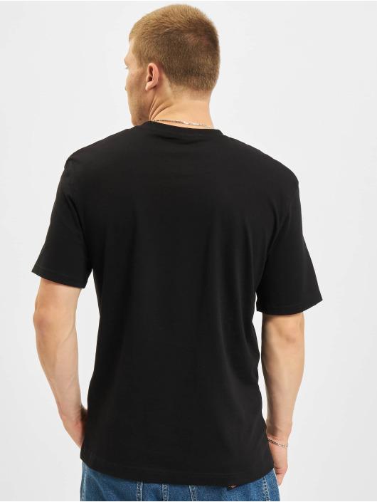 Jack & Jones T-Shirt Jjerelaxed Corp EMB O-Neck schwarz