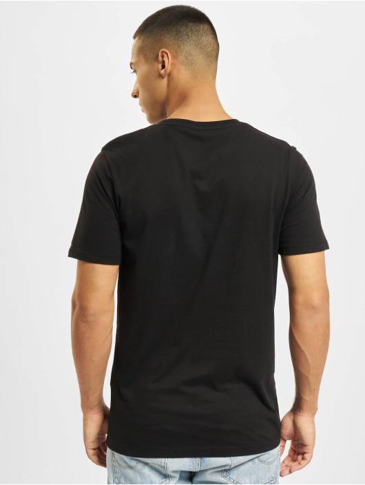 Jack & Jones T-Shirt Jjejeans schwarz