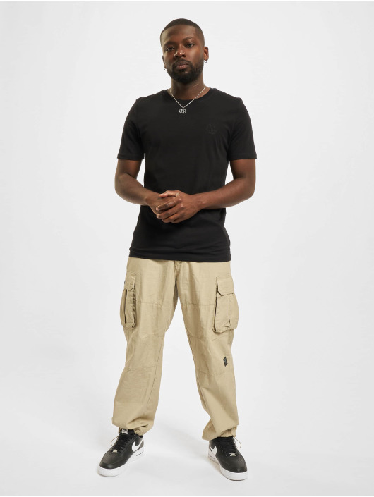 Jack & Jones T-Shirt Jjeorganic O-Neck schwarz
