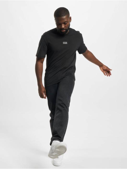 Jack & Jones T-Shirt Jcoclassic Crew Neck 2PK schwarz