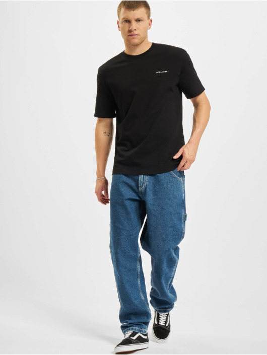 Jack & Jones T-shirt Jjerelaxed Corp EMB O-Neck svart