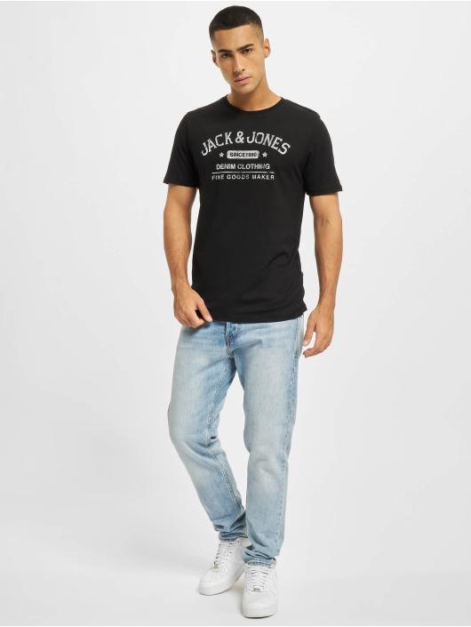 Jack & Jones T-shirt Jjejeans svart