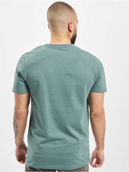 Jack & Jones T-Shirt jcOurbany Crew Neck türkis