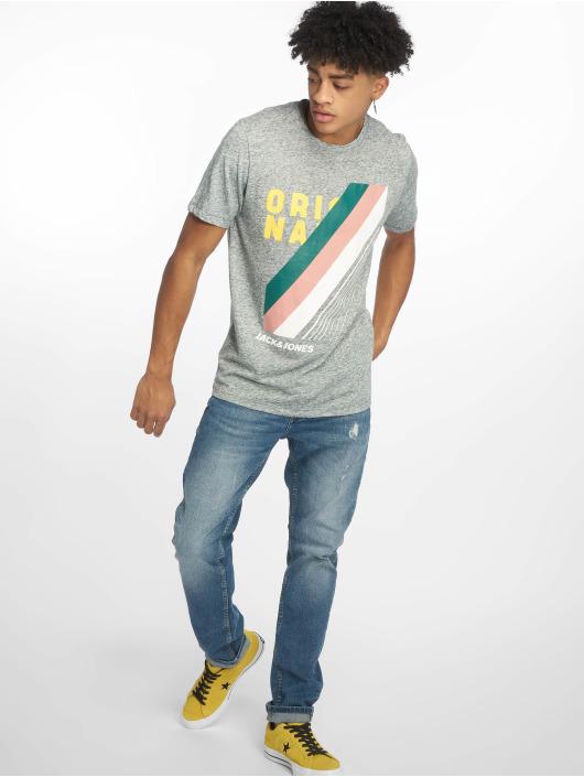 Jack & Jones T-Shirt jorRodo turquoise