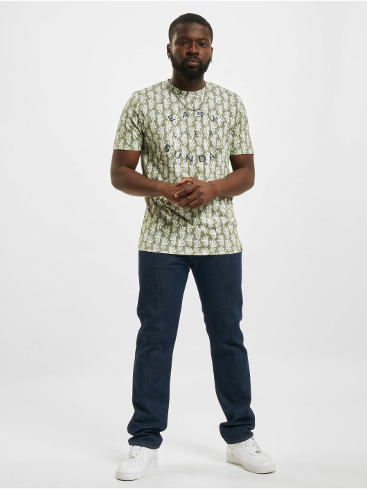 Jack & Jones T-Shirt JOR Sunny AOP vert