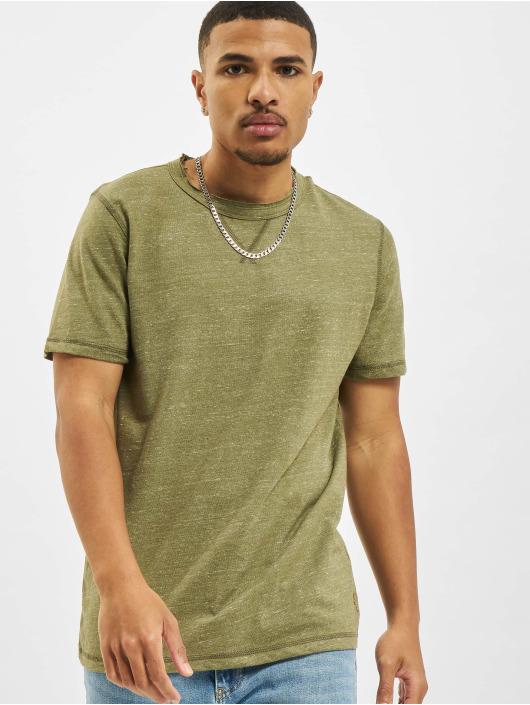 Jack & Jones T-Shirt Jprblumartin Crew Neck vert