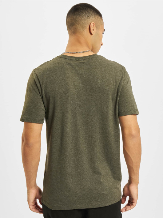Jack & Jones T-Shirt Jjejeans O-Neck vert