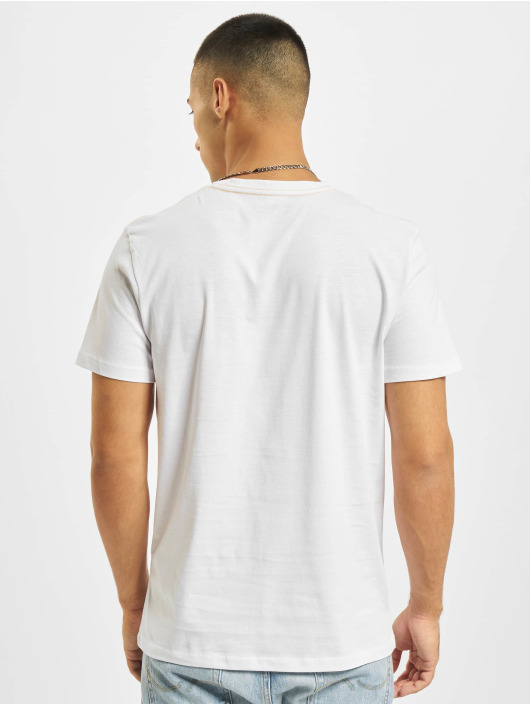 Jack & Jones T-shirt Jorocto Crew Neck vit