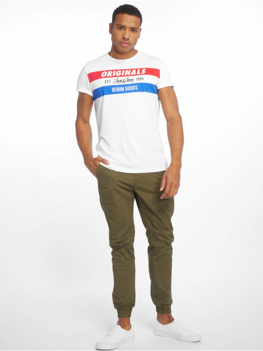 Jack & Jones T-Shirt jorShakedowns weiß