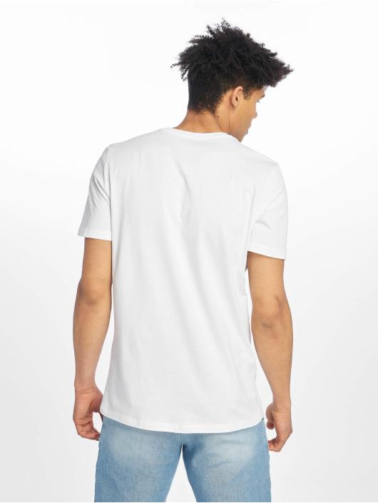 Jack & Jones T-Shirt jcoSpring-Feel weiß