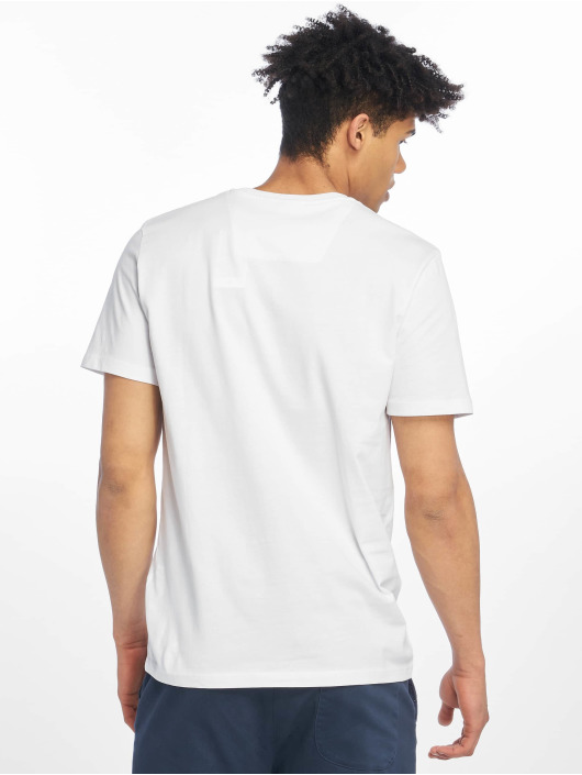 Jack & Jones T-Shirt jcoSpring-Feel weiß