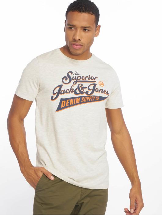 Jack & Jones T-Shirt jjeLogo weiß