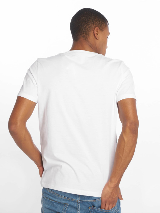Jack & Jones T-Shirt jcoOval weiß