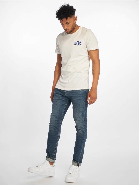 Jack & Jones T-Shirt jjeCorp Logo weiß