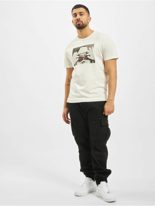 Jack & Jones T-Shirt jorSantaparty weiß