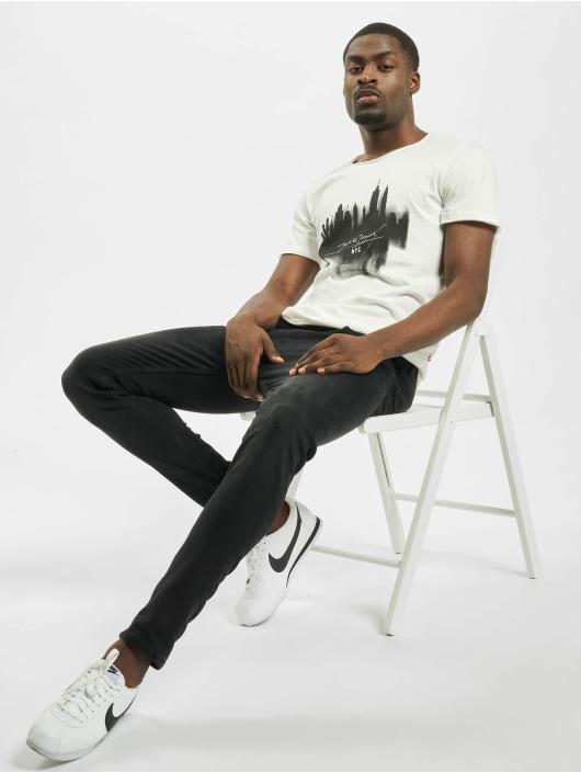 Jack & Jones T-Shirt jorDark City weiß