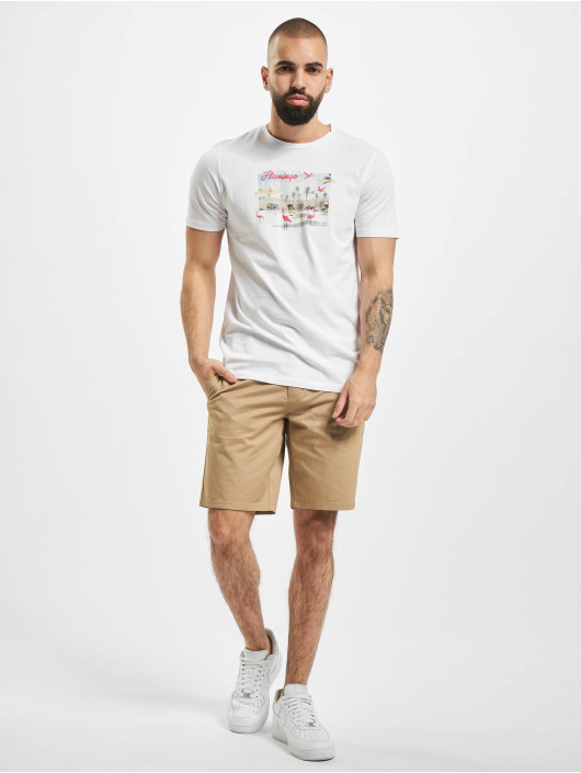 Jack & Jones T-Shirt jorLuciano weiß