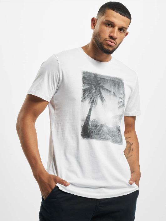 Jack & Jones T-Shirt jprZayn Bla. weiß