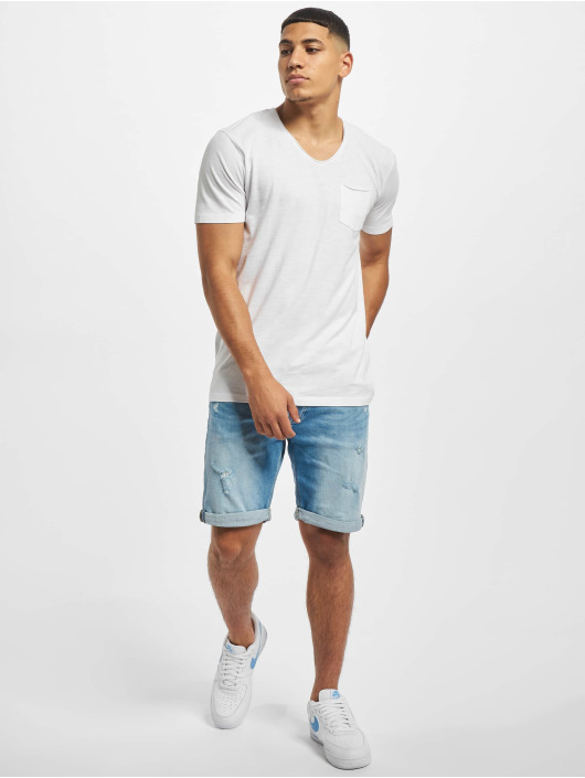 Jack & Jones T-Shirt jprWayn Bla. weiß