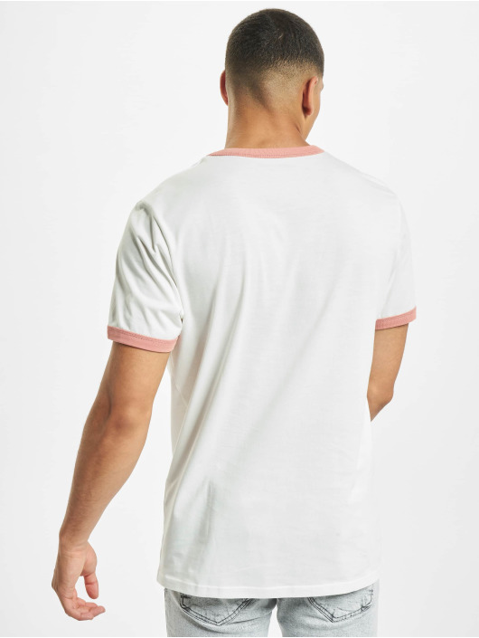 Jack & Jones T-Shirt jorCalli Ringer Organic weiß