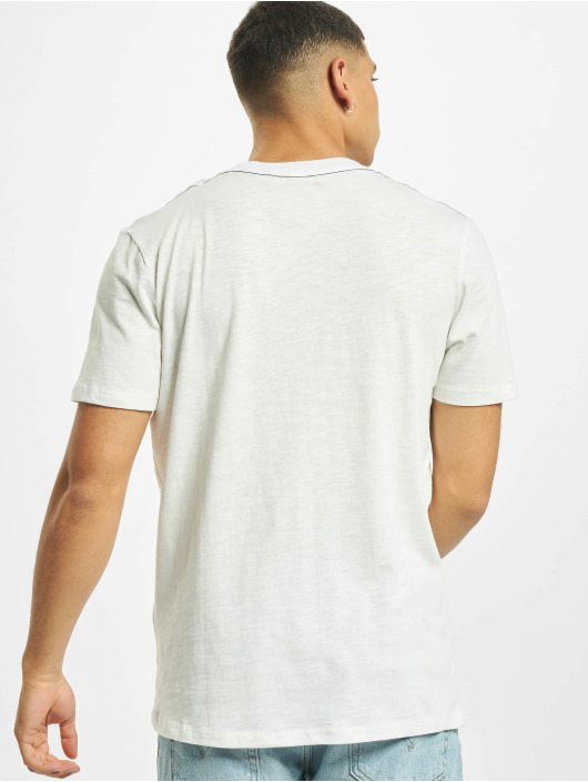 Jack & Jones T-Shirt jj30Jones Slub weiß