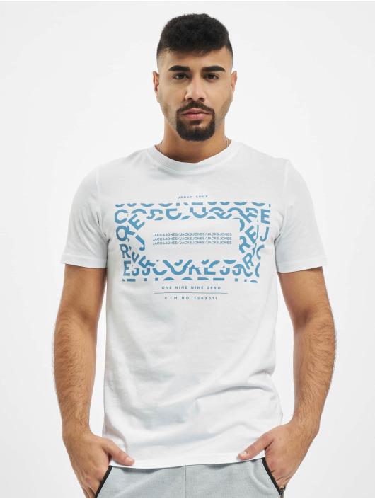 Jack & Jones T-Shirt jcoAke weiß