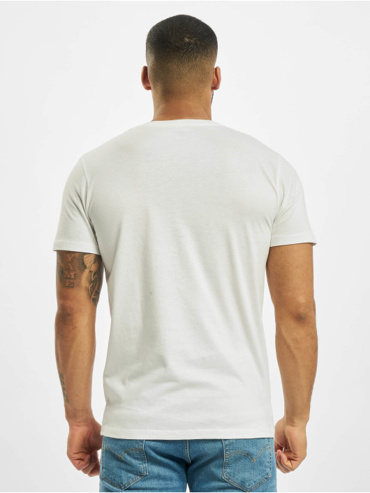Jack & Jones T-Shirt jorSkulling weiß
