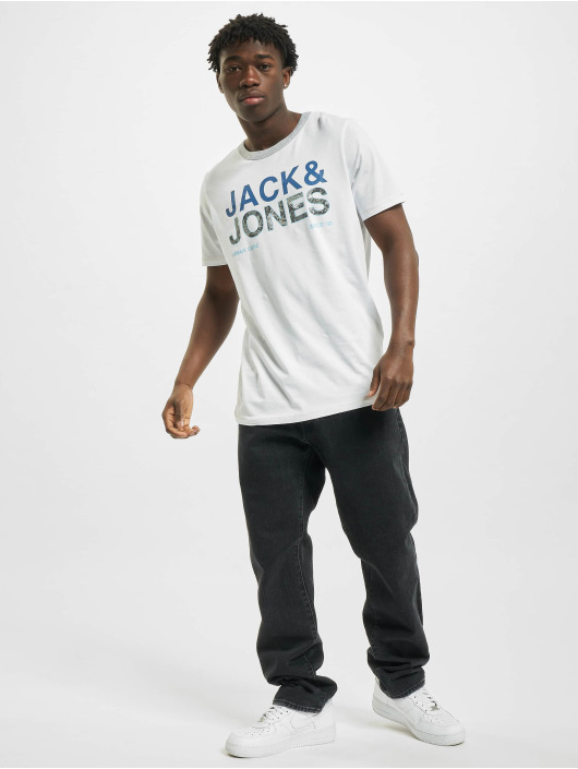 Jack & Jones T-Shirt jcoArt weiß