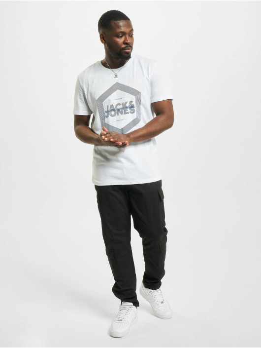 Jack & Jones T-Shirt jjDelight weiß